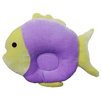 Wonderkids Baby Pillow Fish Shape  Violet