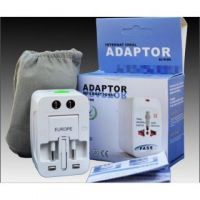Universal All in One World Travel Adapter Surge Protector Converter