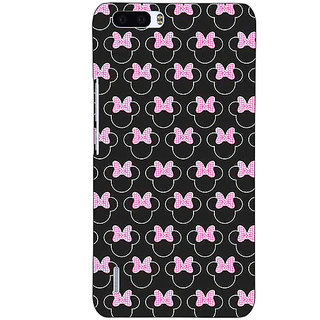 1 Crazy Designer Minnie Mouse Pattern Back Cover Case For Honor 6 Plus C501386