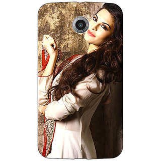 1 Crazy Designer Bollywood Superstar Jacqueline Fernandez Back Cover Case For Google Nexus 6 C511044