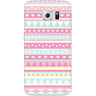 1 Crazy Designer Aztec Girly Tribal Back Cover Case For Samsung S6 C520075