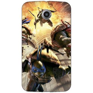 1 Crazy Designer Ninja Turtles Back Cover Case For Google Nexus 6 C510889