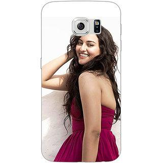 1 Crazy Designer Bollywood Superstar Sonakshi Sinha Back Cover Case For Samsung S6 C521020