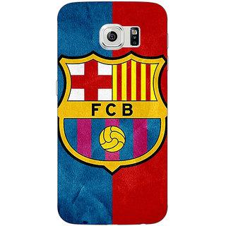 1 Crazy Designer Barcelona Back Cover Case For Samsung S6 C520537