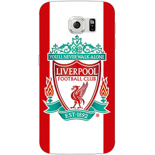1 Crazy Designer Liverpool Back Cover Case For Samsung S6 C520544