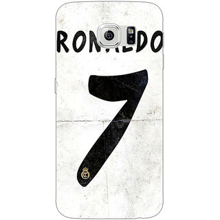 1 Crazy Designer Real Madrid Ronaldo Back Cover Case For Samsung S6 C520598
