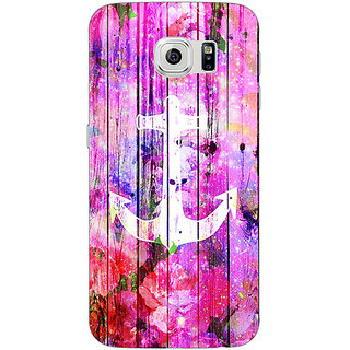 1 Crazy Designer Anchor Back Cover Case For Samsung S6 C520604