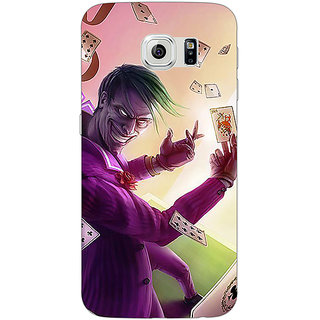 1 Crazy Designer Joker Back Cover Case For Samsung S6 C521441