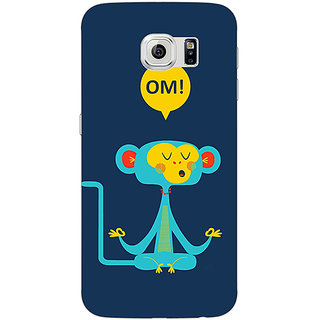 1 Crazy Designer OM Back Cover Case For Samsung S6 C521452