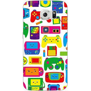 1 Crazy Designer Gamer Back Cover Case For Samsung S6 C521453