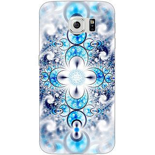 1 Crazy Designer Abstract Design Pattern Back Cover Case For Samsung S6 C521511
