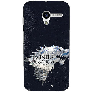 1 Crazy Designer Game Of Thrones GOT House Stark  Back Cover Case For Moto X (1st Gen) C530131