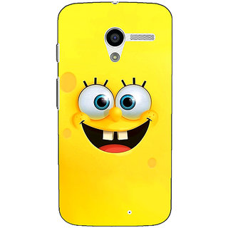 1 Crazy Designer Spongebob Back Cover Case For Moto X (1st Gen) C530467