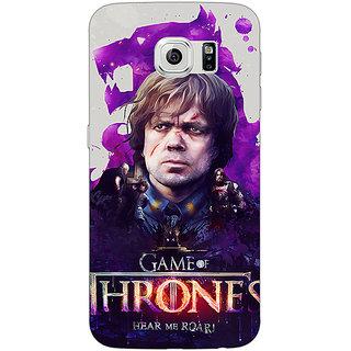 1 Crazy Designer Game Of Thrones GOT House Lannister Tyrion Back Cover Case For Samsung S6 C521546