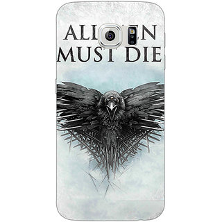 1 Crazy Designer Game Of Thrones GOT All Men Must Die Back Cover Case For Samsung S6 C521556