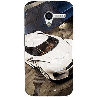 1 Crazy Designer Super Car Aston Martin Back Cover Case For Moto X (1st Gen) C530629