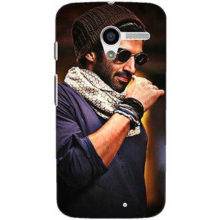 1 Crazy Designer Bollywood Superstar Aditya Roy Kapoor Back Cover Case For Moto X (1st Gen) C530912