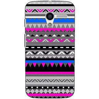 1 Crazy Designer Aztec Girly Tribal Back Cover Case For Moto X (1st Gen) C530059