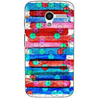 1 Crazy Designer Colourful Winter Pattern Back Cover Case For Moto X (1st Gen) C530279