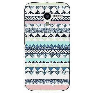 1 Crazy Designer Aztec Girly Tribal Back Cover Case For Moto X (1st Gen) C530073