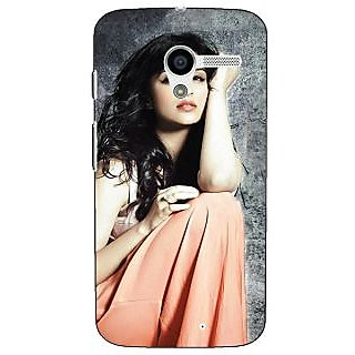 1 Crazy Designer Bollywood Superstar Parineeti Chopra Back Cover Case For Moto X (1st Gen) C531041