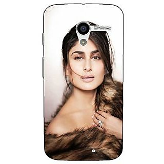 1 Crazy Designer Bollywood Superstar Kareena Kapoor Back Cover Case For Moto X (1st Gen) C531045