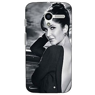 1 Crazy Designer Bollywood Superstar Katrina Kaif Back Cover Case For Moto X (1st Gen) C531073