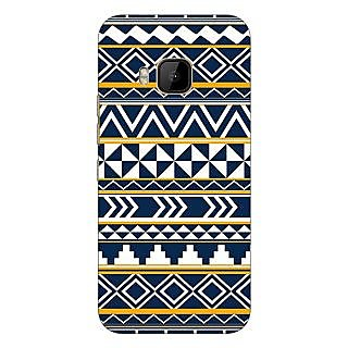1 Crazy Designer Aztec Girly Tribal Back Cover Case For HTC M9 C540060