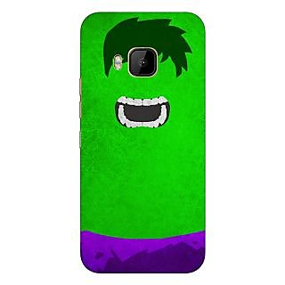 1 Crazy Designer Superheroes Hulk Back Cover Case For HTC M9 C540322