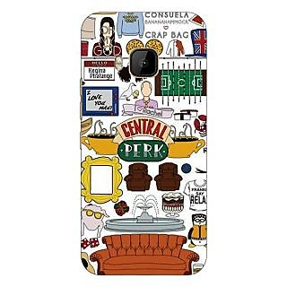 1 Crazy Designer TV Series FRIENDS Back Cover Case For HTC M9 C540342