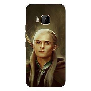 1 Crazy Designer LOTR Hobbit  Back Cover Case For HTC M9 C540375