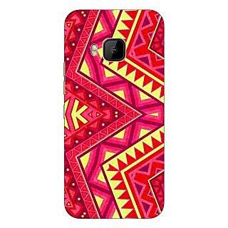 1 Crazy Designer Floral Pattern  Back Cover Case For HTC M9 C540667