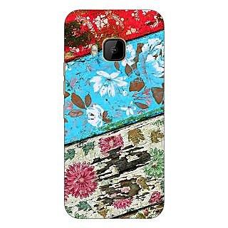 1 Crazy Designer Floral Pattern  Back Cover Case For HTC M9 C540672