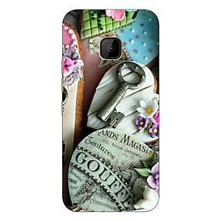 1 Crazy Designer Cakes Back Cover Case For HTC M9 C540689