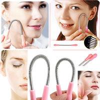 Facial Hair Remover Spring Epilator  Hair Remover Beauty Tool