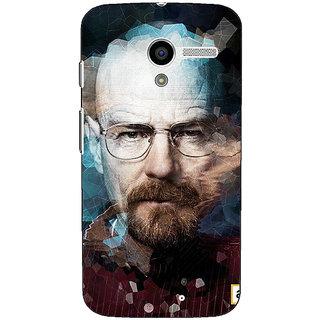 1 Crazy Designer Breaking Bad Heisenberg Back Cover Case For Moto X (1st Gen) C530421