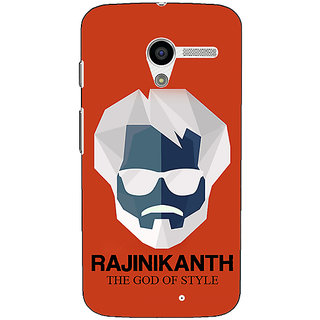 1 Crazy Designer Rajni Rajanikant Back Cover Case For Moto X (1st Gen) C531484