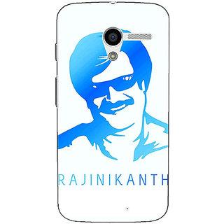 1 Crazy Designer Rajni Rajanikant Back Cover Case For Moto X (1st Gen) C531491