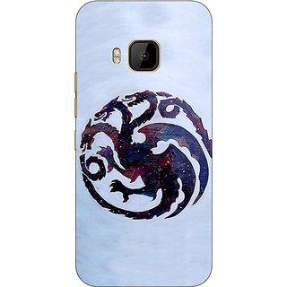 1 Crazy Designer Game Of Thrones GOT House Targaryen  Back Cover Case For HTC M9 C540152