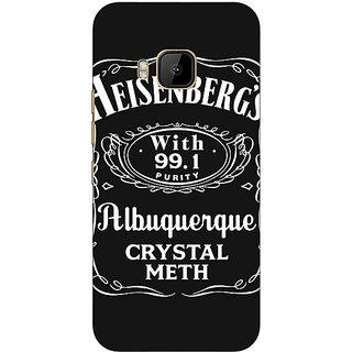 1 Crazy Designer Breaking Bad Heisenberg Back Cover Case For HTC M9 C540402