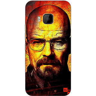 1 Crazy Designer Breaking Bad Heisenberg Back Cover Case For HTC M9 C540405