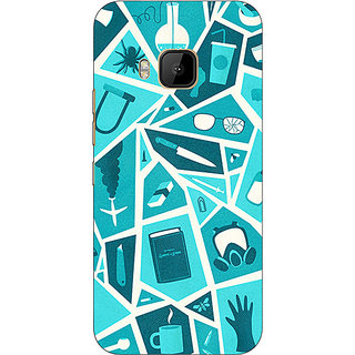 1 Crazy Designer Breaking Bad Back Cover Case For HTC M9 C540411
