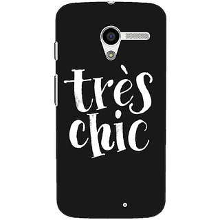 1 Crazy Designer Quote Back Cover Case For Moto X (1st Gen) C531469