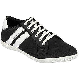 Yepme Men's Stylish Black Casual Shoes