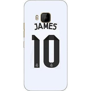 1 Crazy Designer Real Madrid James Rodriguez Back Cover Case For HTC M9 C540592