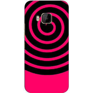 1 Crazy Designer Hippie Psychedelic Back Cover Case For HTC M9 C541271