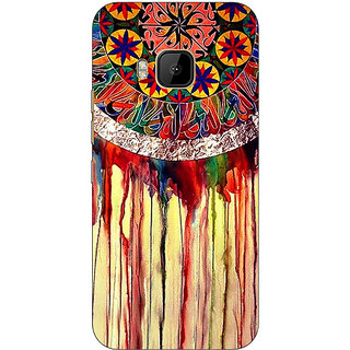 1 Crazy Designer Abstract Dream Catcher Pattern Back Cover Case For HTC M9 C541508