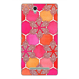 1 Crazy Designer Hot Winter Pattern Back Cover Case For Sony Xperia C3 C550238