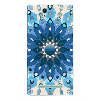 1 Crazy Designer Dream Flower Pattern Back Cover Case For Sony Xperia C3 C550255