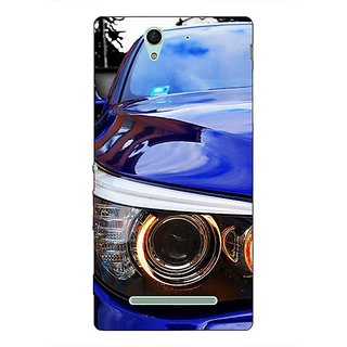 1 Crazy Designer Super Car BMW Back Cover Case For Sony Xperia C3 C550636